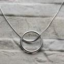 Collana in argento 925 con cerchio