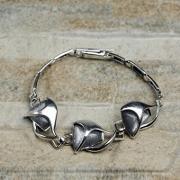 Bracciale donna in argento 925 con Opale