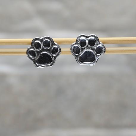 """Orecchini in argento 925 """"Zampa di gatto"""""""