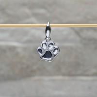 """Pendente argento 925 con """"Zampa di gatto"""""""