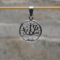 Pendente L'albero della vita nel cerchio argento 925