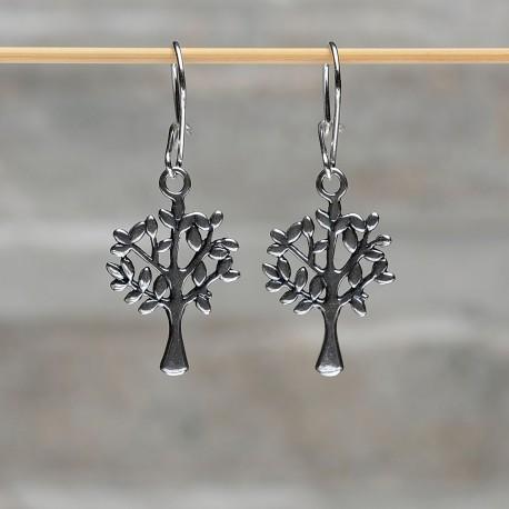 Orecchini pendenti argento 925 L'albero della vita