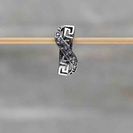 Pendente in argento 925 con zirconi