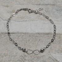 Bracciale in argento 925 con sfere