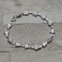 Bracciale donna in argento 925 con stelline