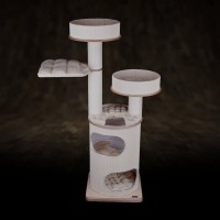 Tiragraffi tubo per gatti mod. TDR-2H-POJ