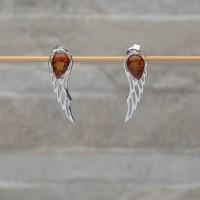 Orecchini in argento 925 con con Ambra da Mar Baltico