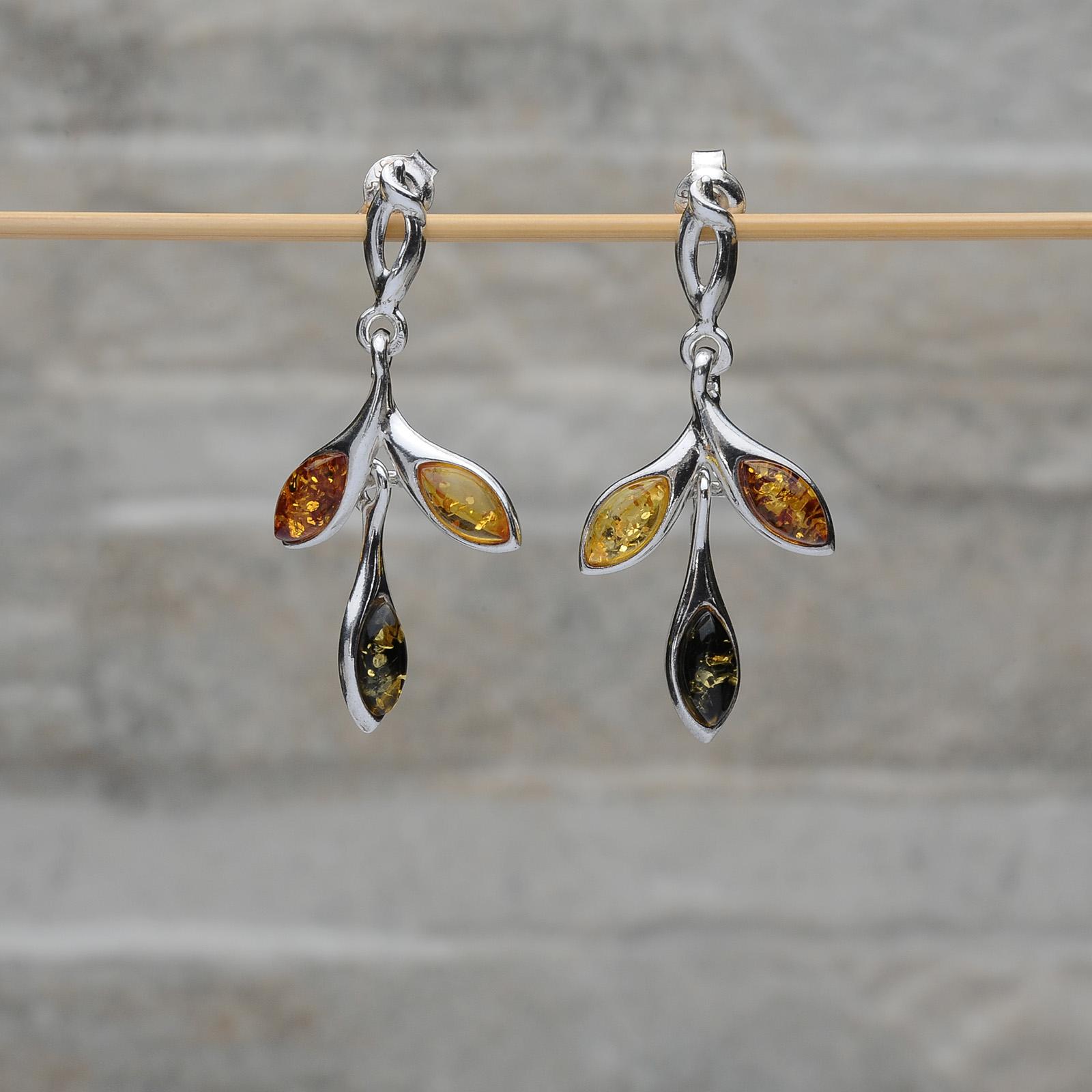 Orecchini pendenti farfalle Tigri-Domestiche-Shop