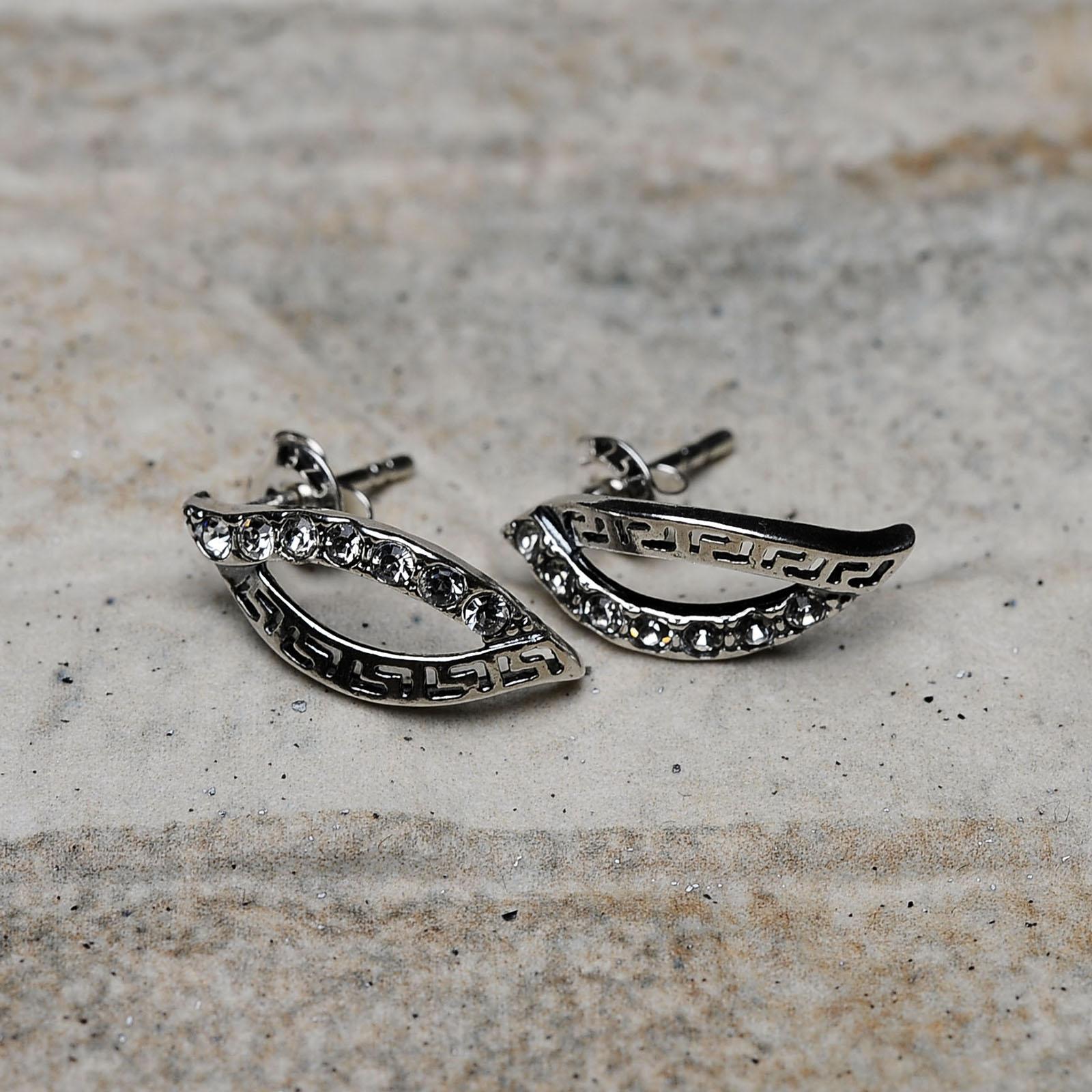 Orecchini argento 925 con Swarovski