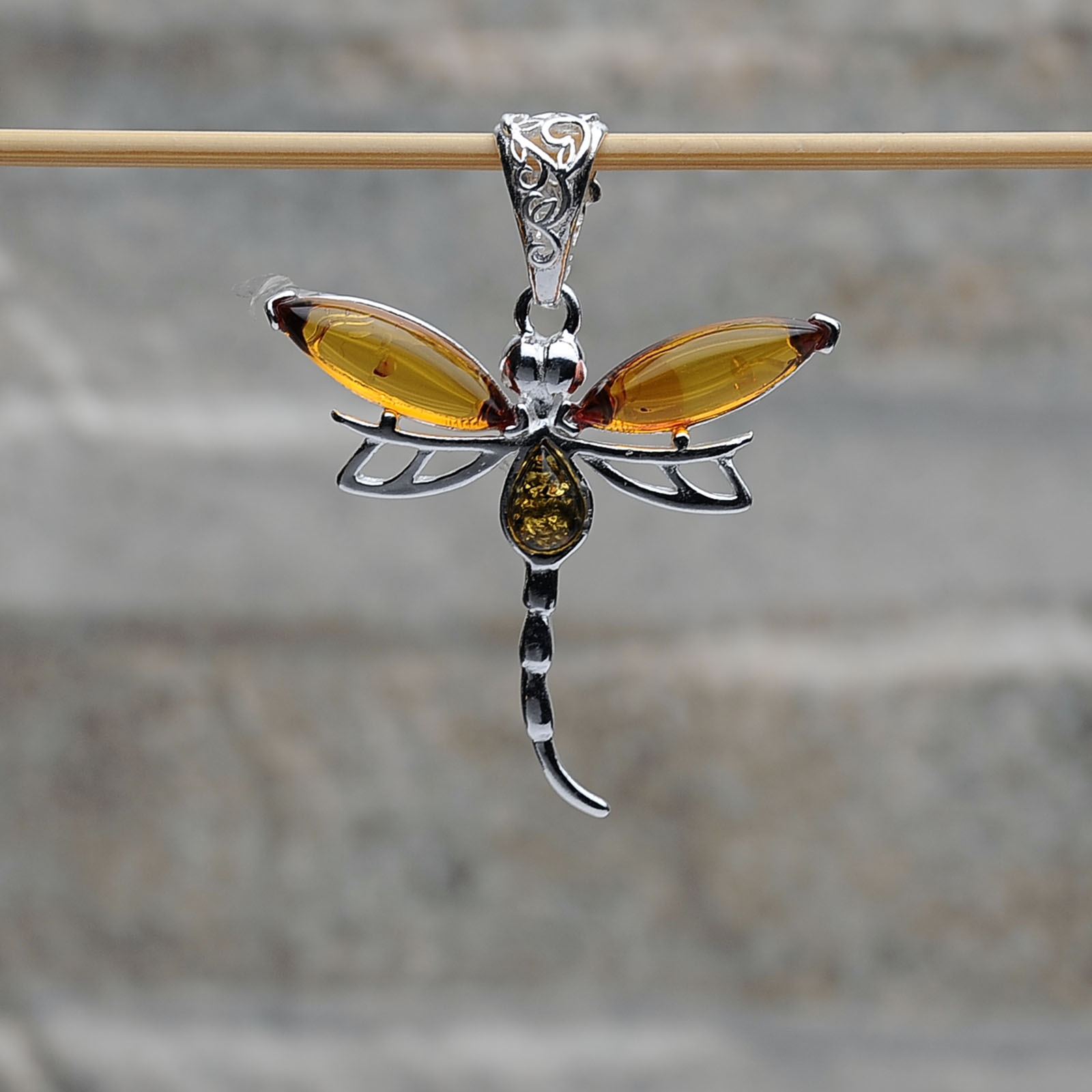 Pendente Farfalla argento 925 Tigri-Domestiche-Shop